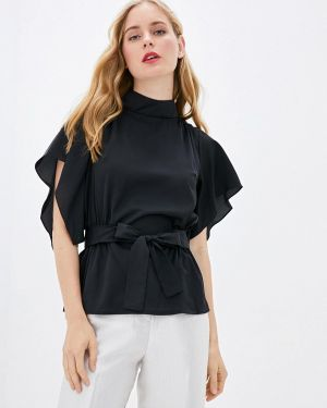 Блузка с коротким рукавом черная With&out