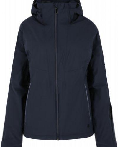 Утепленная синяя куртка на молнии Salomon