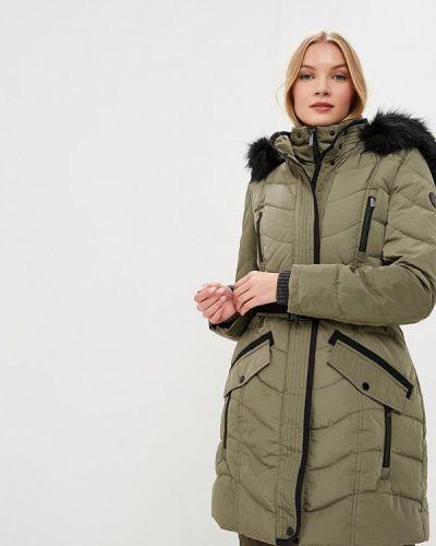 Зимняя куртка осенняя зеленая S.oliver