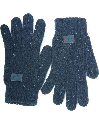 Синие перчатки Armani Jeans