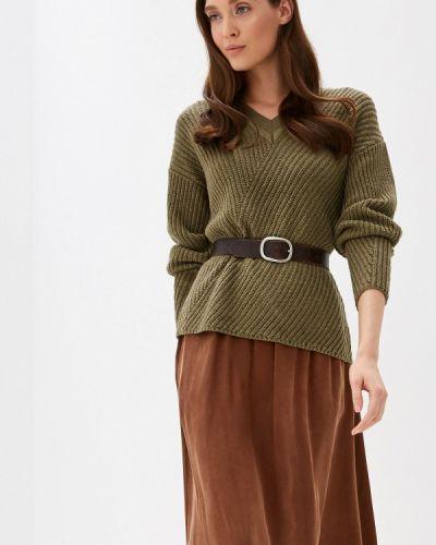 Пуловер хаки Ichi