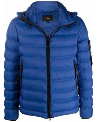 Niebieski płaszcz Peuterey