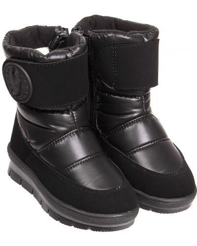 Текстильные черные сапоги Jog Dog