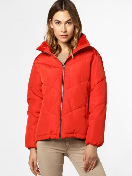 Czerwona kurtka pikowana Rino & Pelle