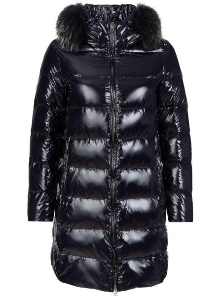 Черная нейлоновая куртка Gallotti