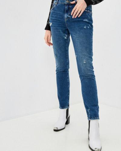 Зауженные джинсы - синие John Richmond