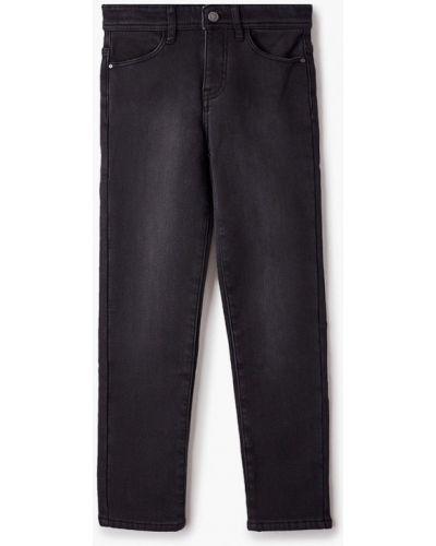 Черные расклешенные свободные джинсы Finn Flare