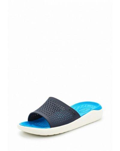 Шлепанцы синий Crocs