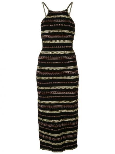 Платье миди макси в полоску Alice Mccall
