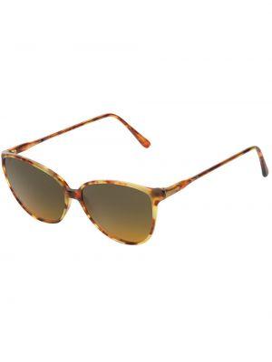 Муслиновые солнцезащитные очки круглые Persol Pre-owned