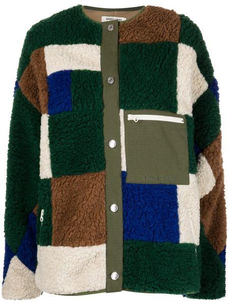 Куртка на молнии с карманами с круглым вырезом Sandy Liang