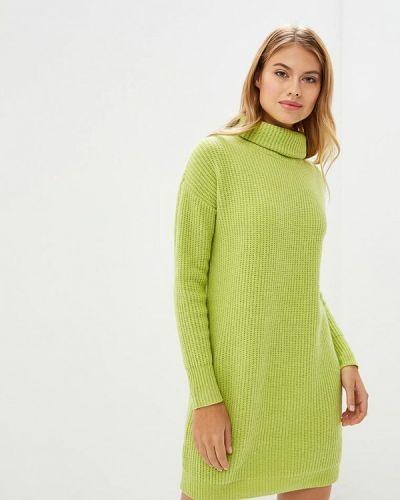 Платье осеннее зеленый Rodier