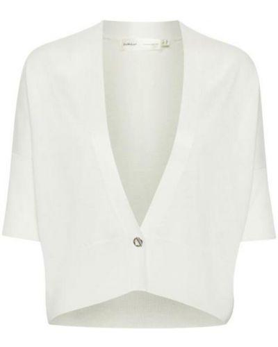 Kardigan - biały Inwear