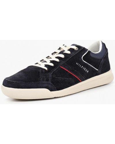 Кроссовки замшевые низкие Tommy Hilfiger