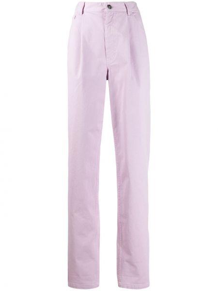 Брюки с карманами - фиолетовые A.f.vandevorst
