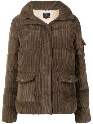Brązowa kurtka Unreal Fur