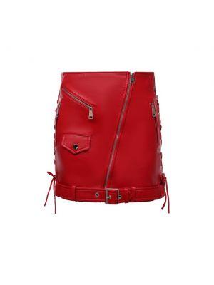 Красная итальянская юбка Manokhi