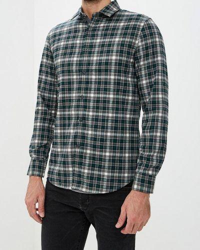 Зеленая рубашка с длинным рукавом Warren Webber
