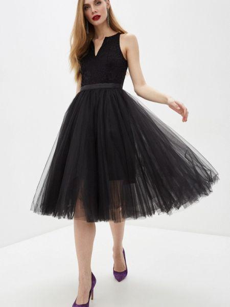 Вечернее платье осеннее черное M,a,k You Are Beautiful