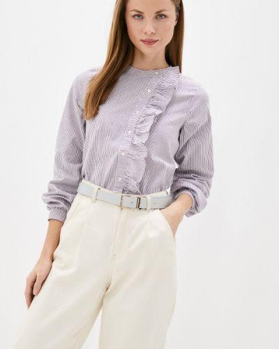 Фиолетовая блузка с оборками Compania Fantastica