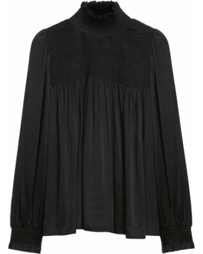 Czarna bluzka Rodebjer