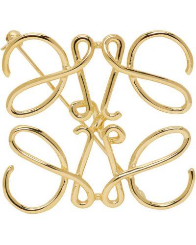 Broszka ze złota złoto Loewe