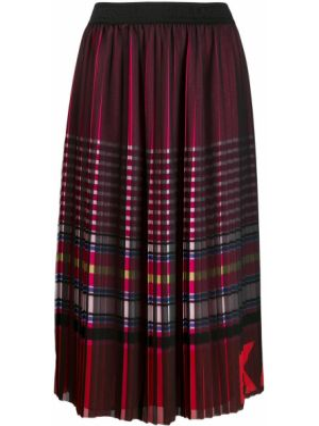 Плиссированная юбка миди макси Karl Lagerfeld
