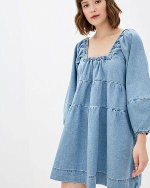 Джинсовое платье - голубое Free People