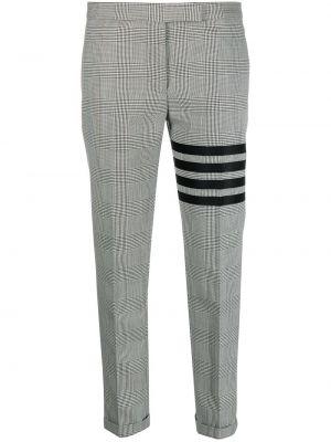 Шерстяные брюки - черные Thom Browne
