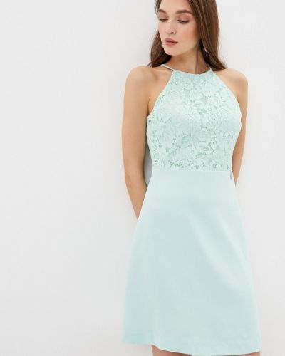 Платье футляр бирюзовый Love Republic