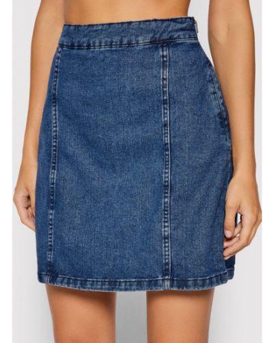 Spódnica jeansowa - niebieska Noisy May