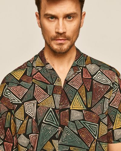 Рубашка с короткими рукавами на пуговицах из вискозы Medicine