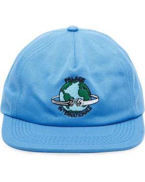 Niebieska czapka Palace