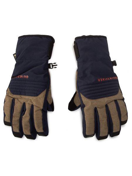 Beżowe rękawiczki narciarskie Quiksilver