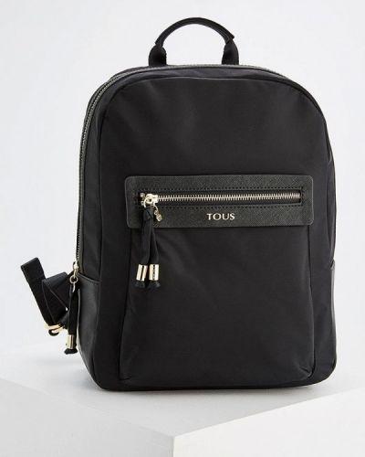 Черный рюкзак беговый Tous
