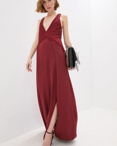 Красное вечернее платье Patrizia Pepe