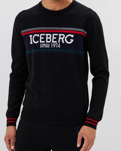 Черный джемпер Iceberg