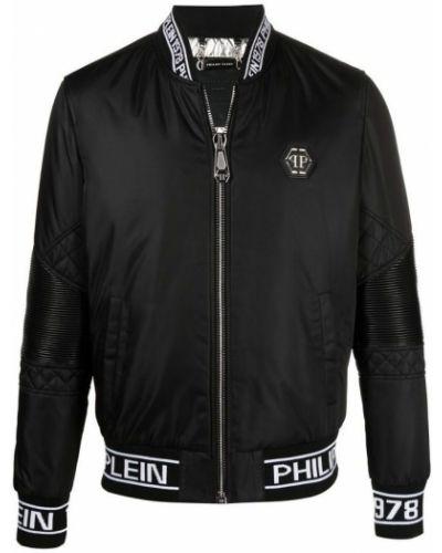 Czarna kurtka bez rękawów Philipp Plein