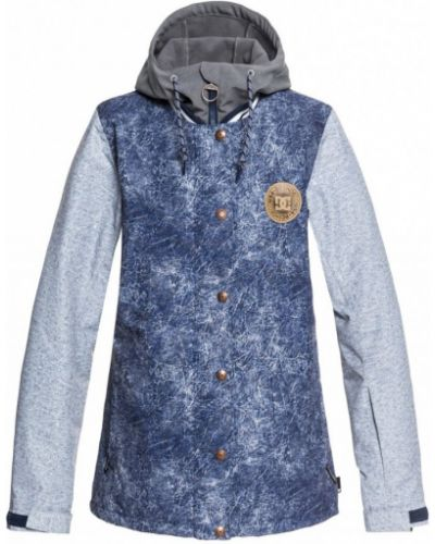 Джинсовая куртка для сноуборда синий Dc Shoes