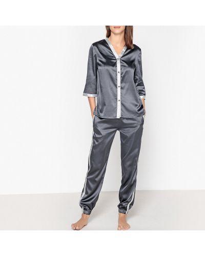 Пижама с брюками на пуговицах свободная La Redoute Collections