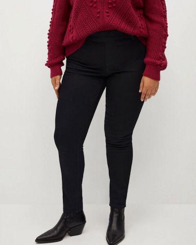 Черные джинсы-скинни узкого кроя Violeta By Mango