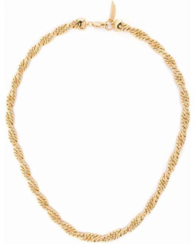 Złoty naszyjnik łańcuch pozłacany Missoma