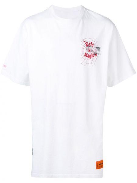 Koszula krótkie z krótkim rękawem prosto Heron Preston