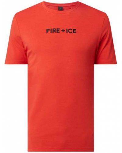 T-shirt bawełniany Bogner Fire + Ice