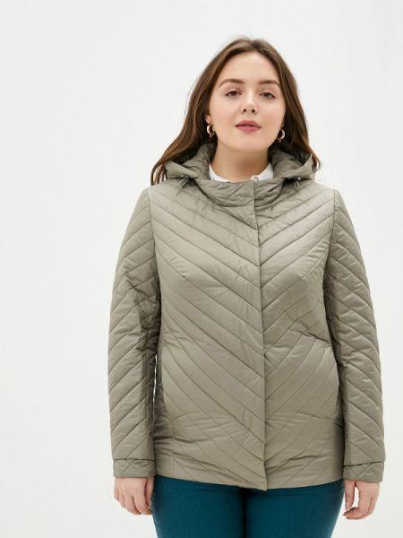 Теплая зеленая утепленная куртка Montserrat