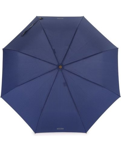 Автоматический зонт в полоску складной из полиэстера Moschino