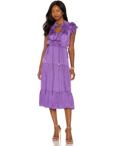 Платье атласное - фиолетовое Karina Grimaldi