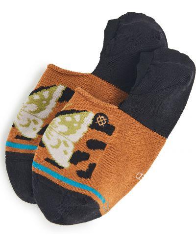 Ватные хлопковые черные носки высокие Stance