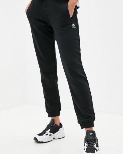 Спортивные черные спортивные брюки Adidas Originals
