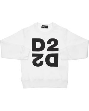Bluza na szyi z logo Dsquared2